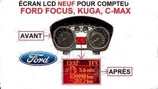 TUTO:Changement écran centrale compteur Ford focus/kuga/C Max