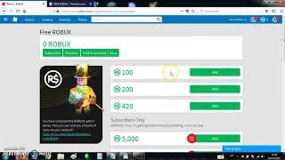 wie man unbegrenzte kostenlose robux auf roblox haben