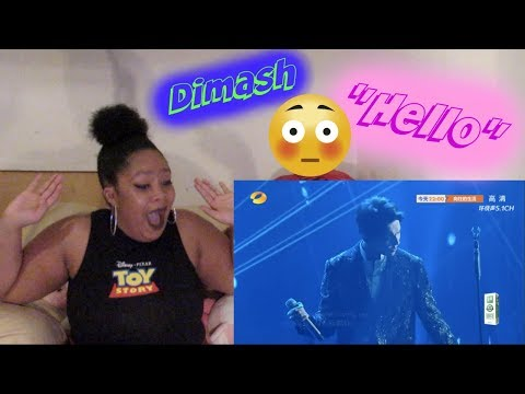 Dimash- Hello2018 Reaction Holy Crap