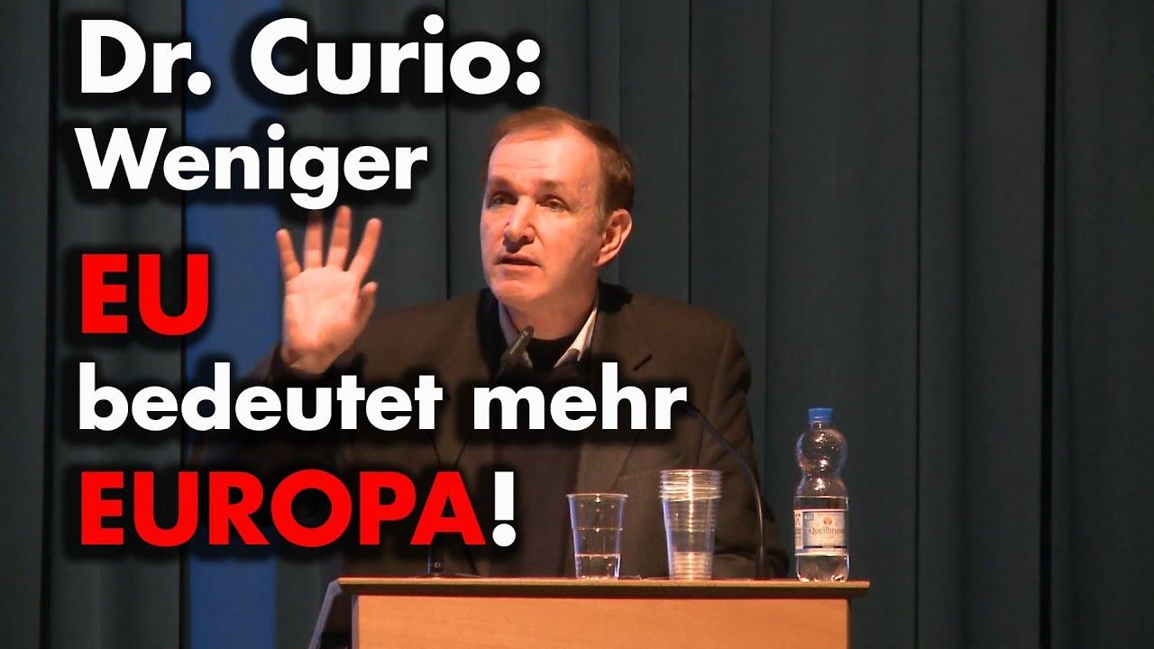 Gottfried Curio: Weniger EU bedeutet mehr Europa