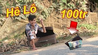 Troll Người Đi Đường Rơi 100 Triệu Xem Phán Ứng NTN Và Cái Kết Đắng | Ts Vlogs