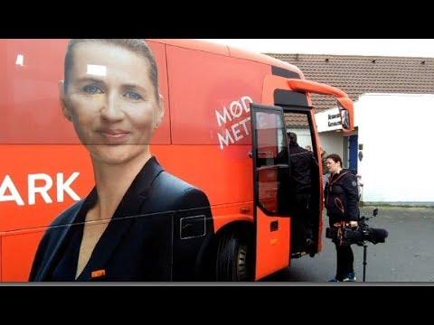 Mette Frederiksen besøger  Blokhus 09.11.17