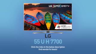 LG 55UH7700 Super UHD 4K HDR Smart LED TV - 55