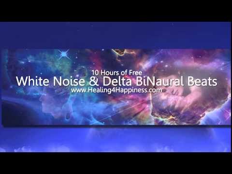 White Noise & Delta BiNaural Beats the Ultimate Sleep Lullaby, BiNaural Beats for Sleep