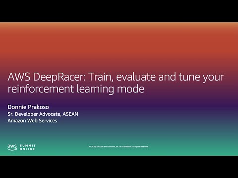 AWS DeepRacer: Train, Evaluate, and Tune - Level 300 (United States)