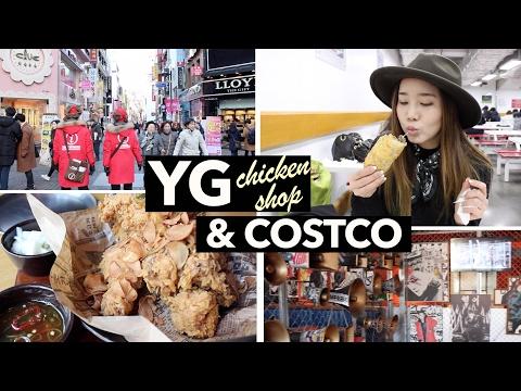 YG Chicken Restaurant in Myeongdong + Bulgogi Bakes in Costco
