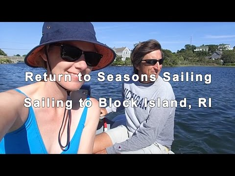 Sailing to Block Island, RI