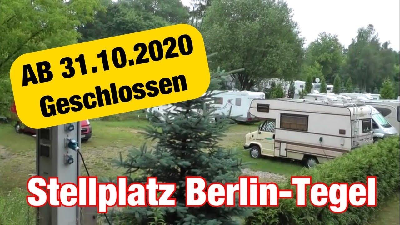 Wohnmobilstellplatz Berlin Alt Tegel Womoclickde Youtube