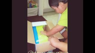 Unboxing summer potty trainer/for my 2 year old son