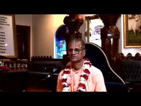Lecture - Bhakti Purusottama Swami - SB 7.13.11-13 and Julan Yatra Stories