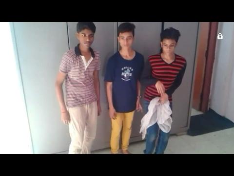 one girl three boys!