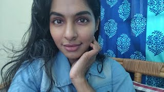 Live now|GET READY WITH ME|simple nude makeup look|Asvi Malayalam