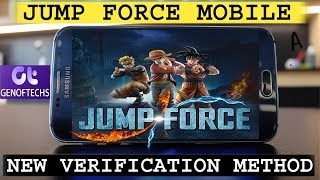 Gambar cover JUMP FORCE NEW WAY TO SKIP VERIFICATION   JUMP FORCE   WATCH