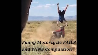 Funny Motorcycle FAIL and WIN Compilation 2020