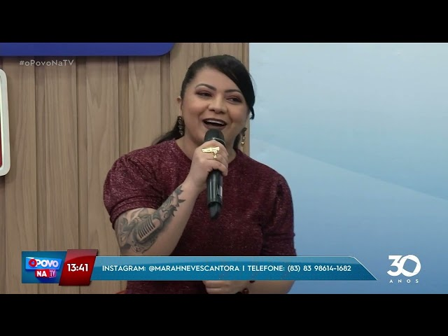 Mara Neves Ex cantora de Mala 100 alça anima seu sábado  - O Povo na TV
