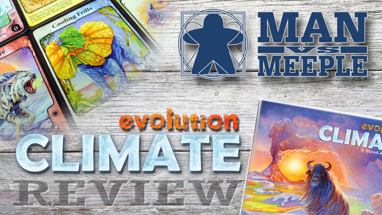 Evolution Climate (North Star Games) Review by Man Vs Meeple