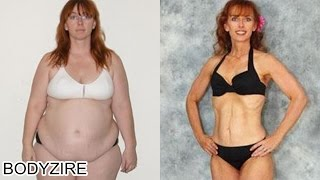 Fat To Fit Muscular Body Transformation Women Motivation Before And After