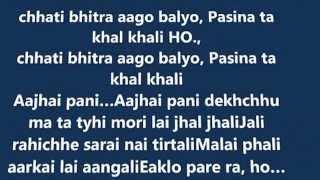 Nepali music track song nisthurile chhade ra gai hali