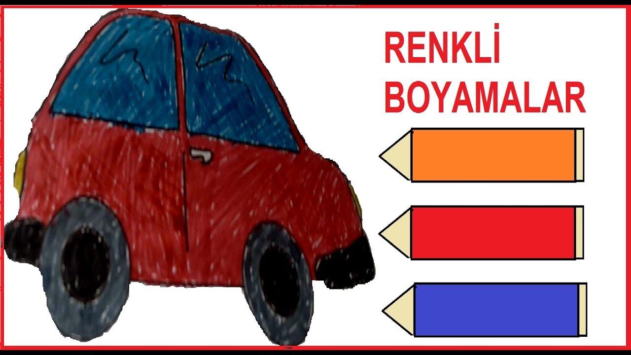 Araba Boyama Boyama Oyunları Youtube