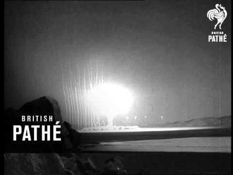 Selected Originals - U.S. Marines In Atom Test (1952)