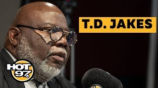 T.D. Jakes Drops Gems On Helping Our Communities, STEAM program, Obama & Therapy