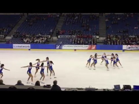 Tremors Juvenile at US Figure Skating Pacific Coast Synchro Sectionals 2016