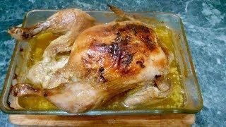Ароматная курица с пряными травами
