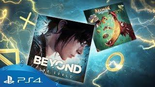 Play Station Plus 2018 MAYIS AYI ÜCRETSİZ OYUNLAR AÇIKLANDI Beyond  Two Souls + Rayman Legends