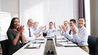 Smiling Business People Meeting In Office 14 | Stock Footage - Videohive
