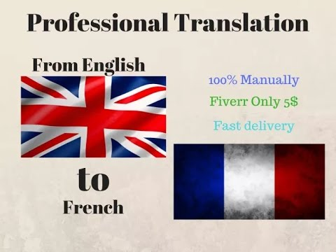 how to translate english to french 3 ways google translate fiverr and upwork youtube. Black Bedroom Furniture Sets. Home Design Ideas