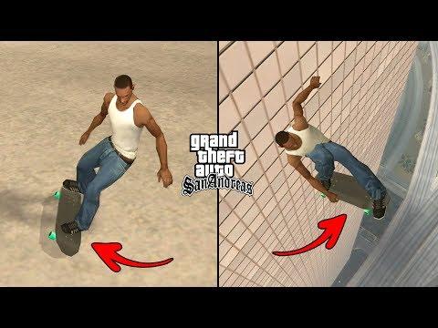 Secret Skateboard Cheat Code In GTA San Andreas! (Secret Cheats PC)
