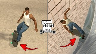 Secret Skateboard Cheat Code in GTA San Andreas! (Secret Cheats PC)