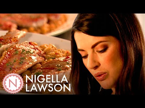 Nigella Lawson's Red Mullet With Chickpeas, Chilli, Garlic And Thyme | Nigella Bites