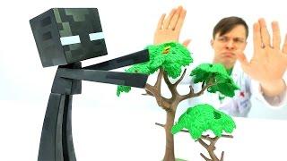 #МАЙНКРАФТ *Эндермен у Доктора Ой!* Игры для мальчиков #ИгрушкиМайнкрафт Играем в доктора #Minecraft