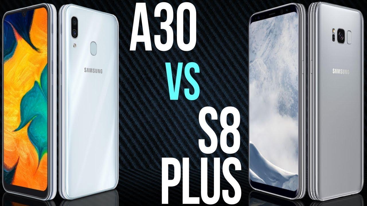 A30 vs S8 Plus (Comparativo)