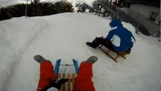 Gopro Hd - Snow Sled In Klosters/davos (swiss) - The Tocsins Music