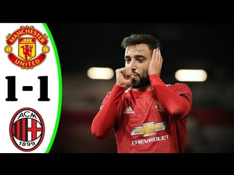 Download Manchester United vs AC Milan 1@1 All Goals Extended Highlights 2021