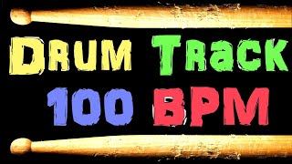 Soft Rock Blues Backing Beat Drum Track 100 BPM Bass Guitar Practice Tracks Free MP3