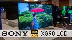 SONY XG90: Kleiner 49 Zoll 4K TV mit X1 Extreme Prozessor und FALD (4K / 60p)