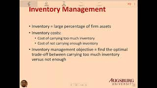 Ch 17 Working Capital Management (Clip 02 Inventory)