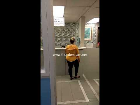 Racist Woman yelling and demanding to see a white doctor born in Canada.