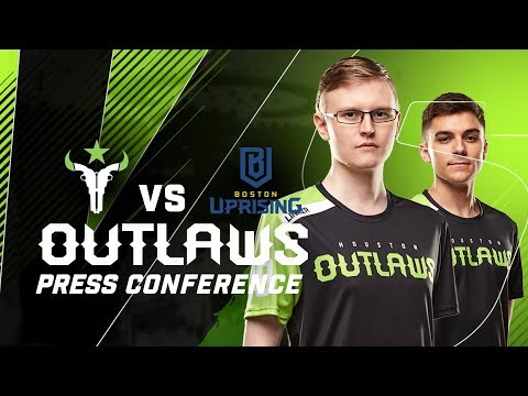 """""""Who Would Win in Hunger Games?"""" - Houston Outlaws Press Conference Stage 4 Week 1 (Boston Uprising)"""