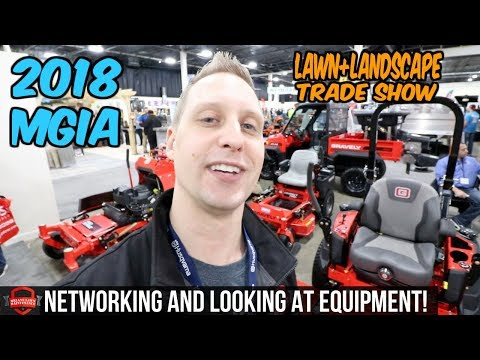 Attending The 2018 MGIA Lawn + Landscape Trade Show In Novi MI | Sure Trac, Gravely, Exmark, BOSS