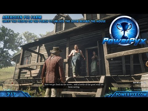 Red Dead Redemption 2 - All Homestead Stash Locations (Breaking and Entering Trophy Guide)