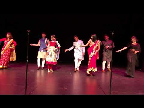 "Dance Performance By ""Hosts"" (Dhakai Saree)- BSA Spring 2018"