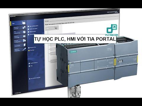 Tự học PLC, HMI- 2 Khởi tạo Project và chạy mô phỏng