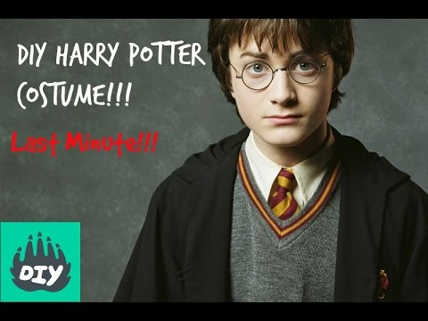 Diy harry potter costume youtube diy harry potter costume solutioingenieria Images