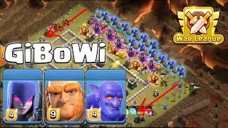 TH12 CWL GiBoWi Attack 2019! Destroyer GiBoWi 3Star 3 inferno TH12 War Bases | Clash Of Clans
