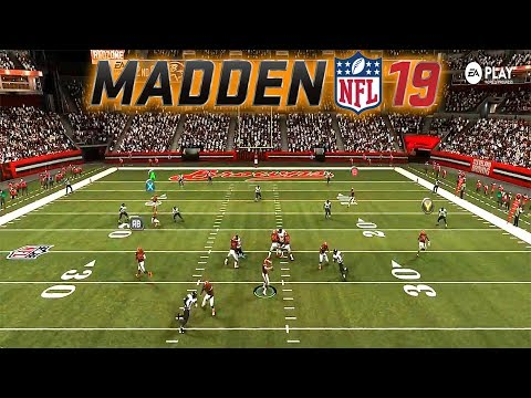 UNRELEASED REAL MADDEN 19 GAMEPLAY - HIGHLIGHTS WITH EAGLES, STEELERS, BROWNS, RAMS