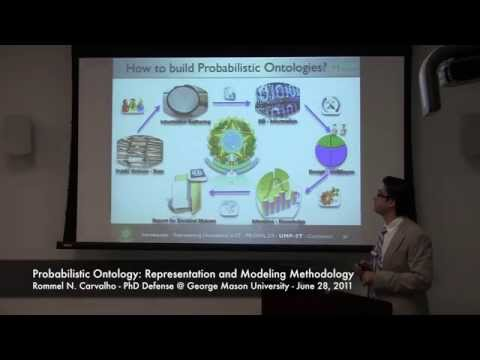 PhD Defense - Probabilistic Ontology Representation and Modeling Methodology